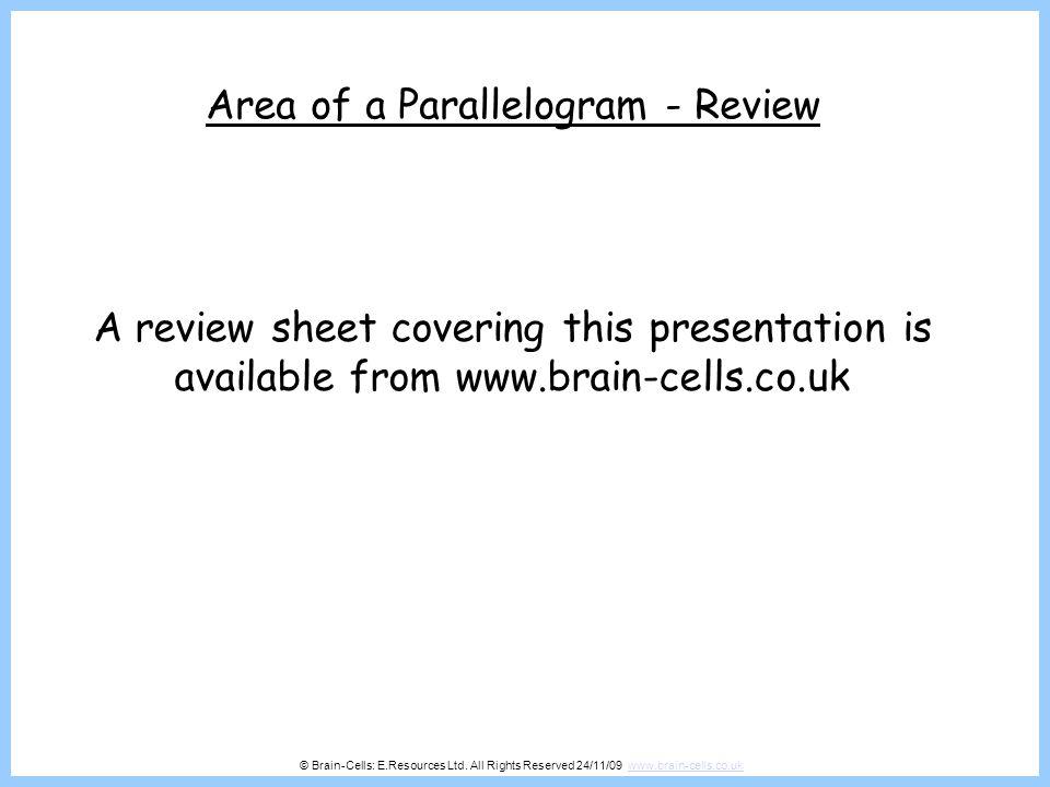 © Brain-Cells: E.Resources Ltd.