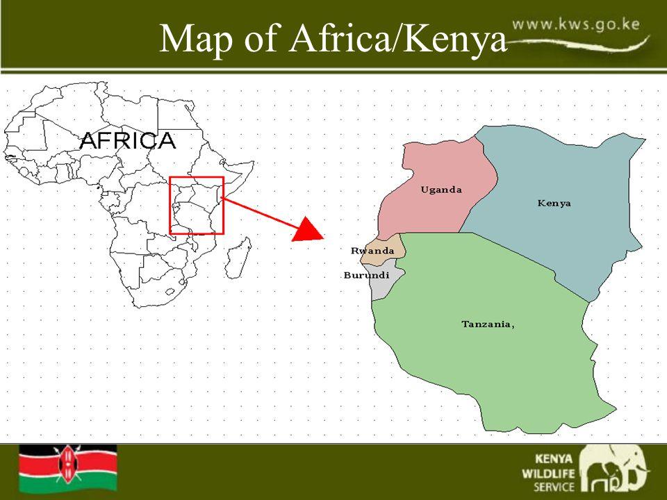Map of Africa/Kenya