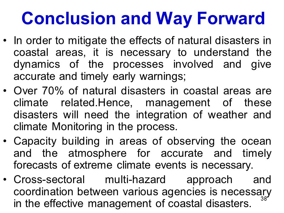 Essay Of Natural Disasters
