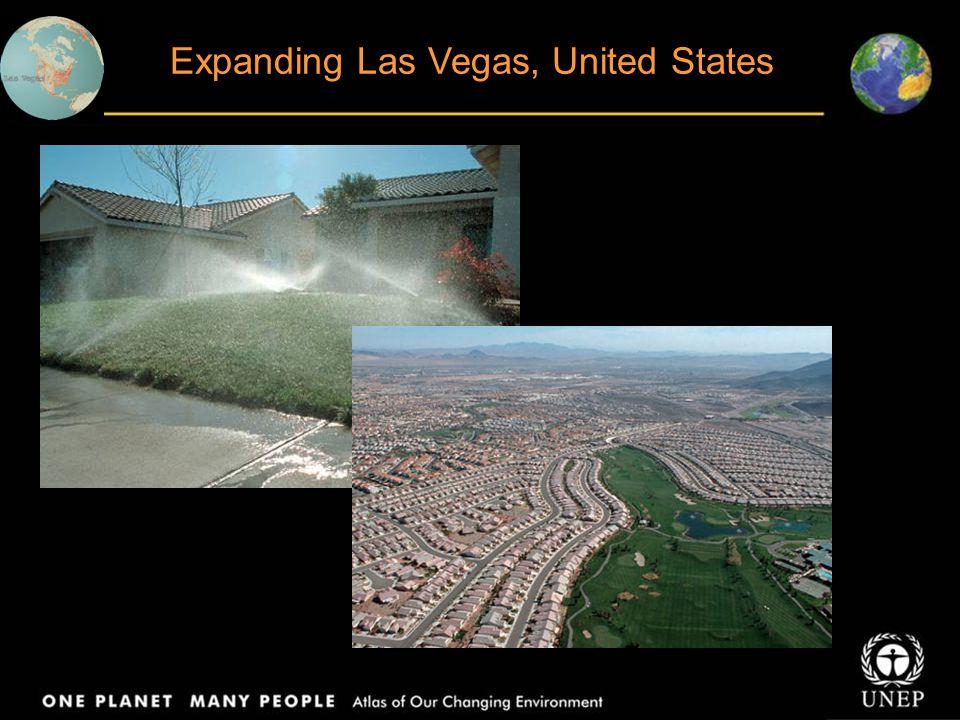 Expanding Las Vegas, United States