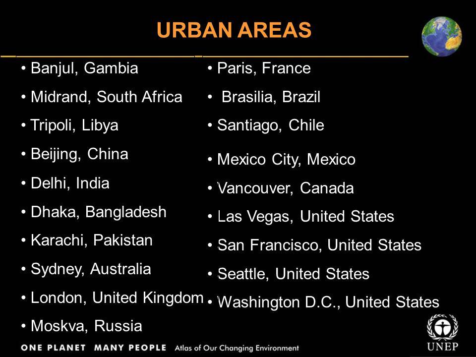 Paris, France Brasilia, Brazil Santiago, Chile Mexico City, Mexico Vancouver, Canada Las Vegas, United States San Francisco, United States Seattle, Un