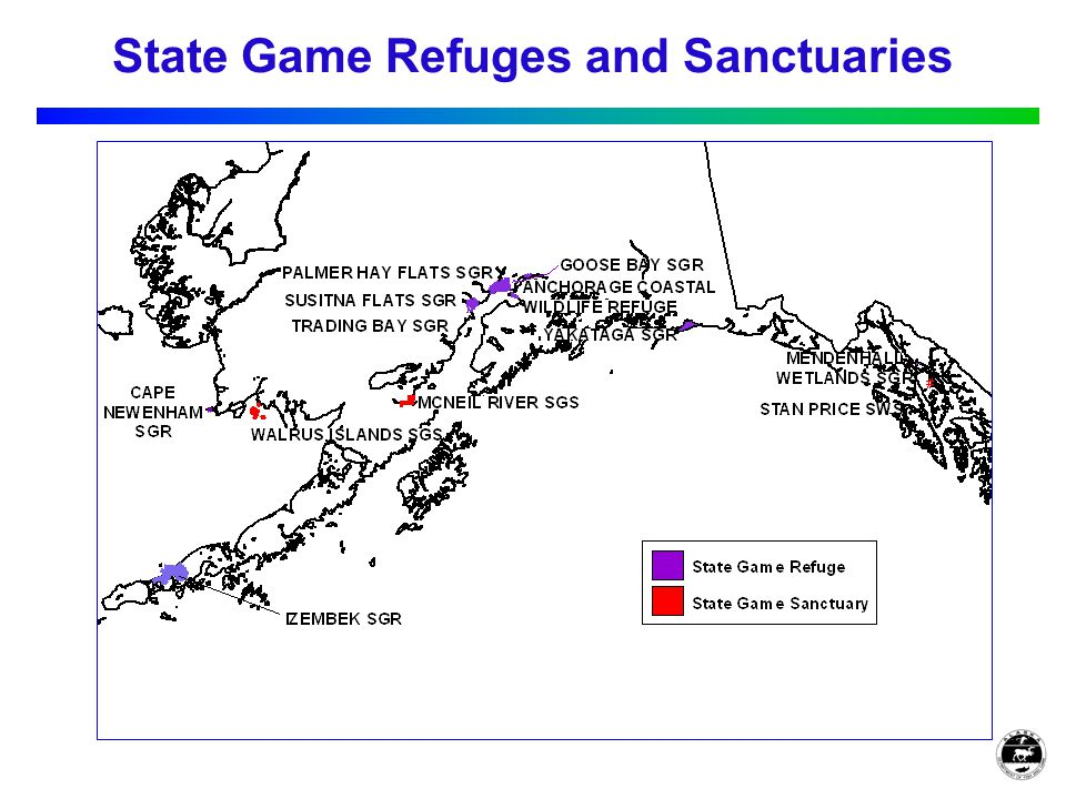 State Game Refuges and Sanctuaries