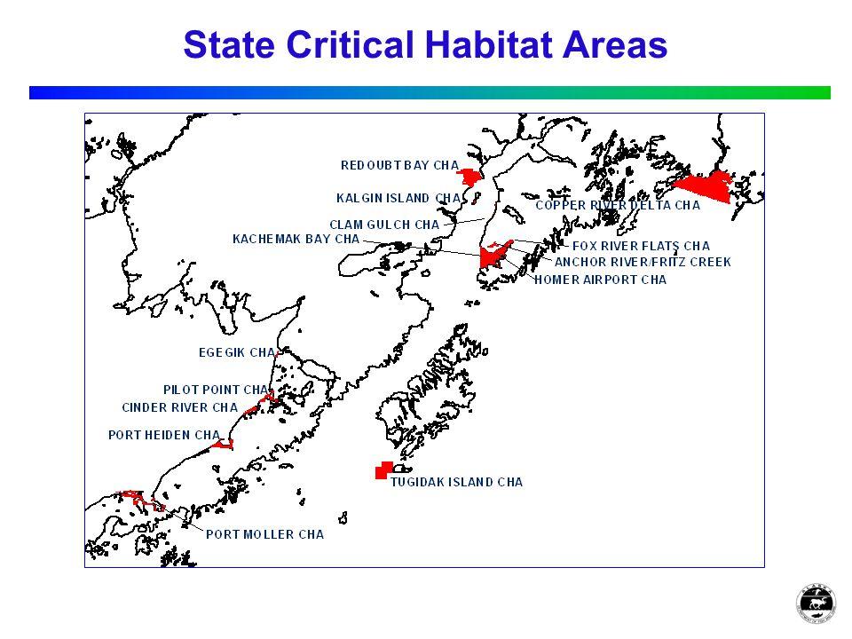 State Critical Habitat Areas