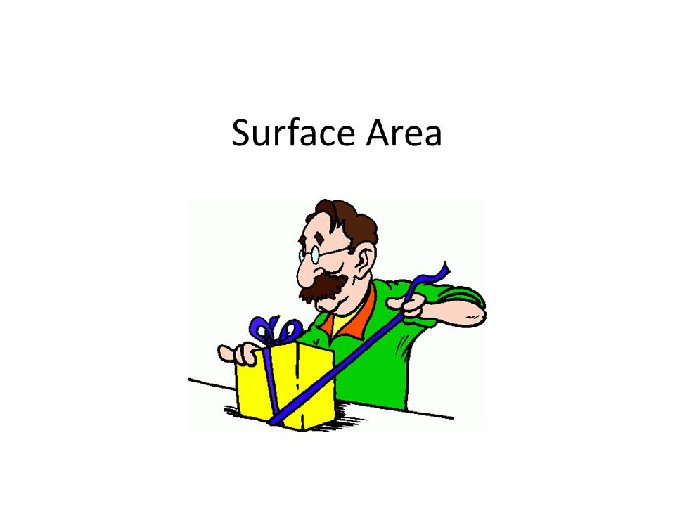Rectangular Prism The surface area S.A.