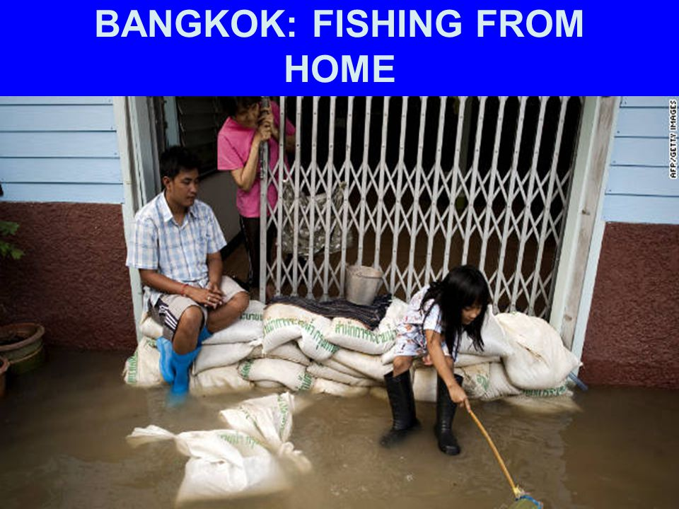 BANGKOK: FISHING FROM HOME