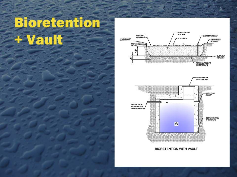 Bioretention + Vault