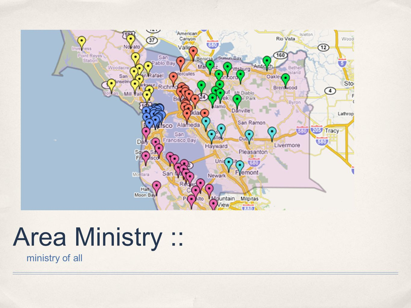 Area Ministry :: ministry of all
