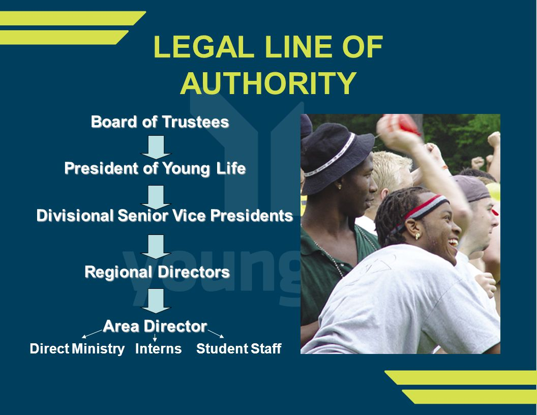 Area Young Life Ministry Essential Work