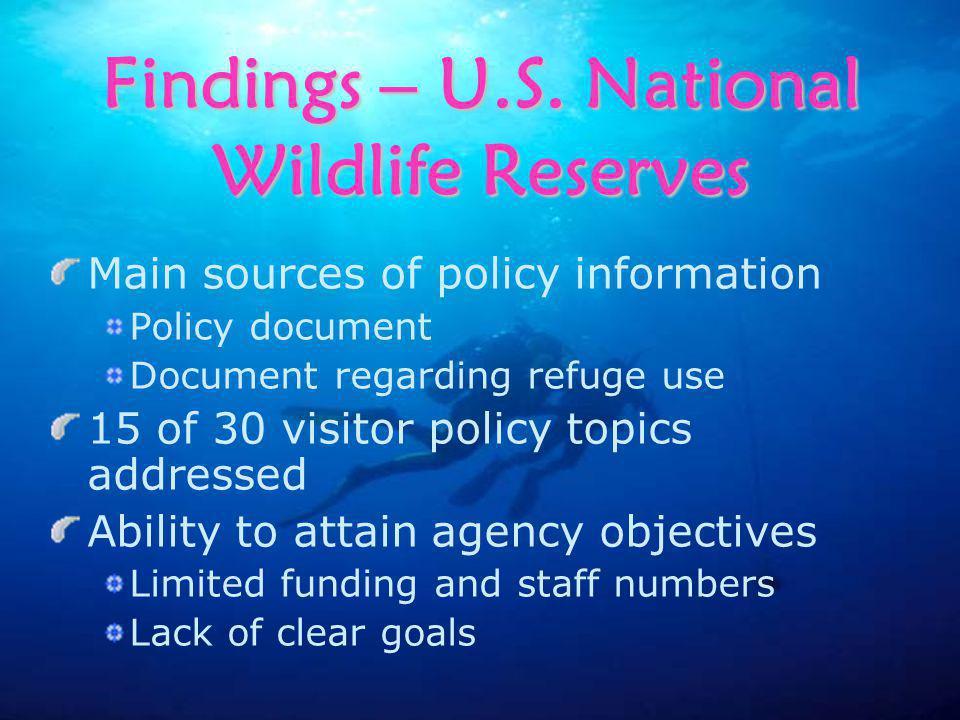 Findings – U.S.