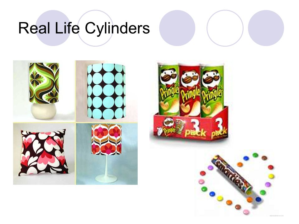 Real Life Cylinders