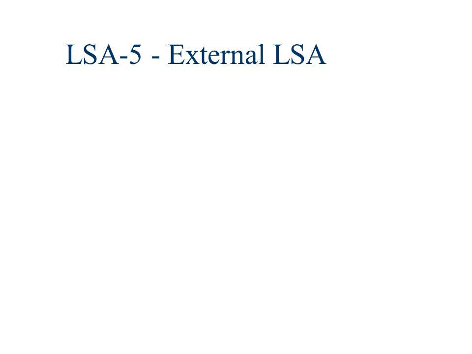 LSA-5 - External LSA
