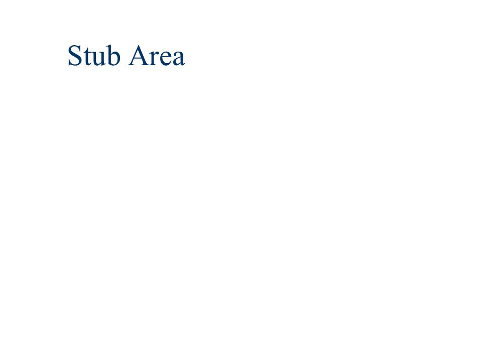Stub Area