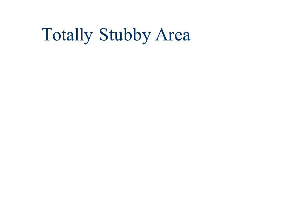 Totally Stubby Area