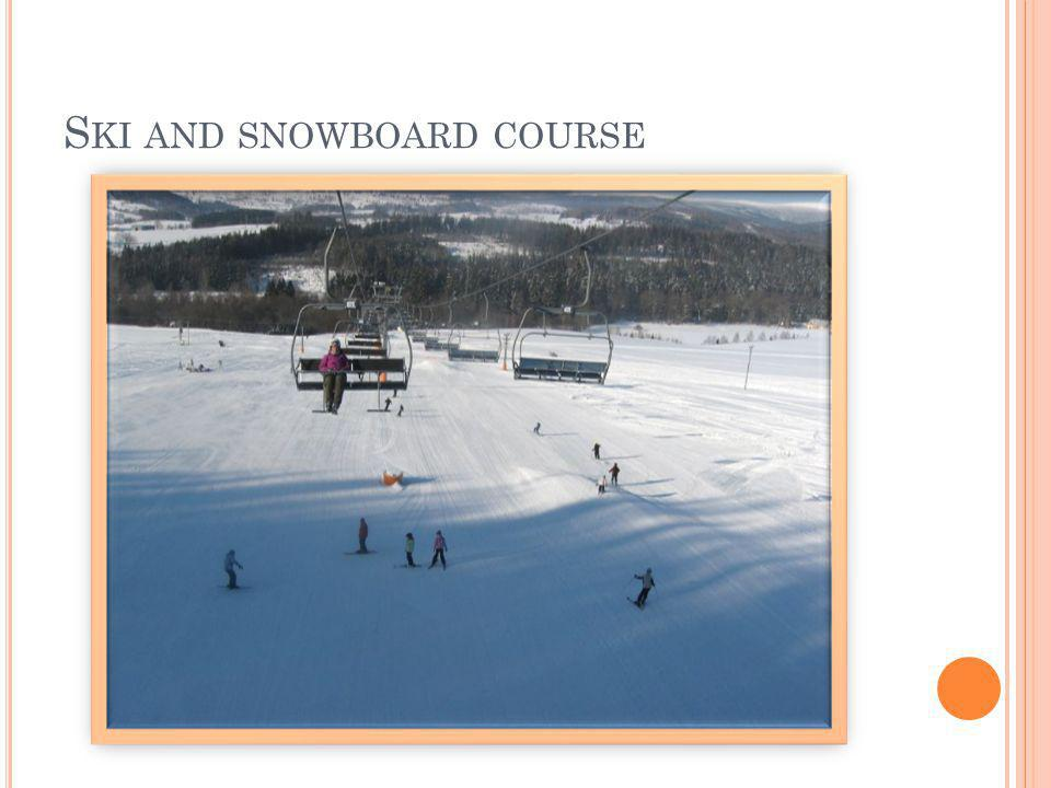 S KI AND SNOWBOARD COURSE
