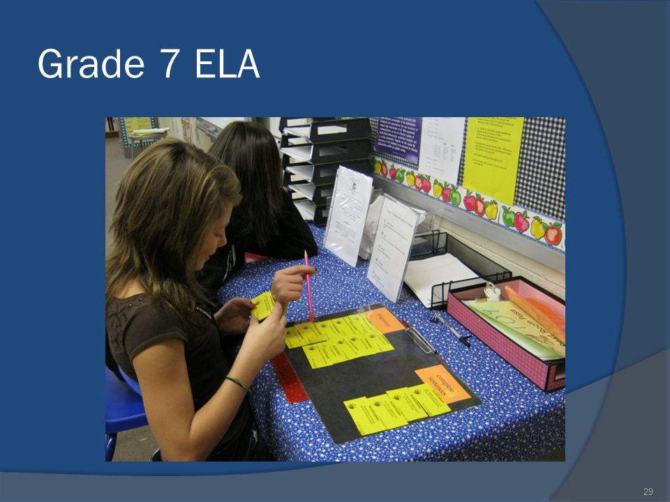 Grade 7 ELA 29