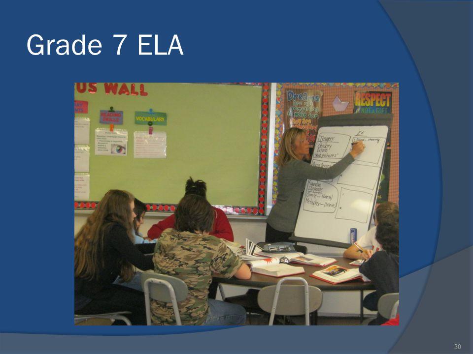 Grade 7 ELA 30
