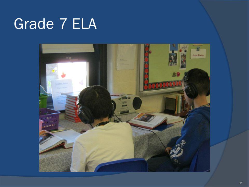 Grade 7 ELA 31