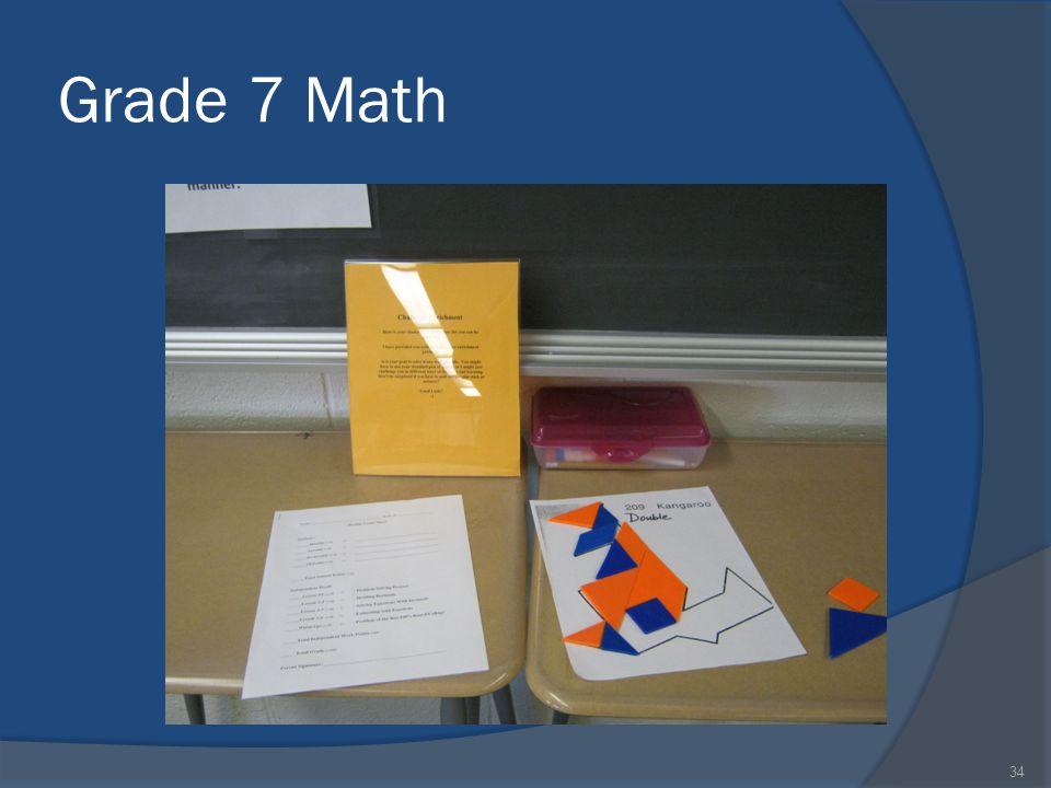 Grade 7 Math 34