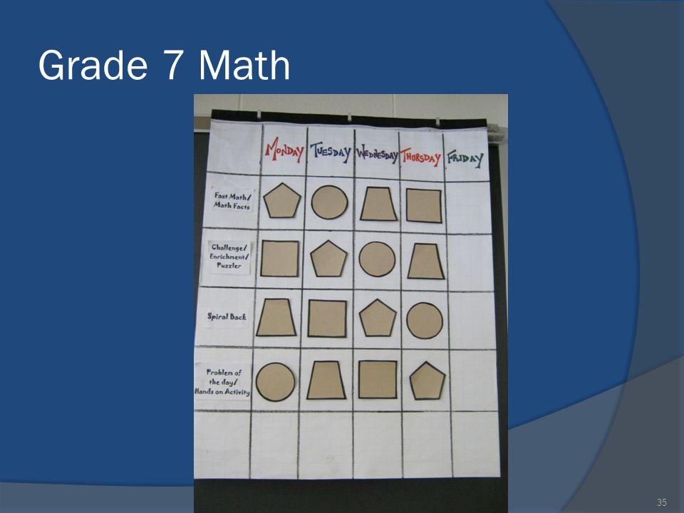 Grade 7 Math 35