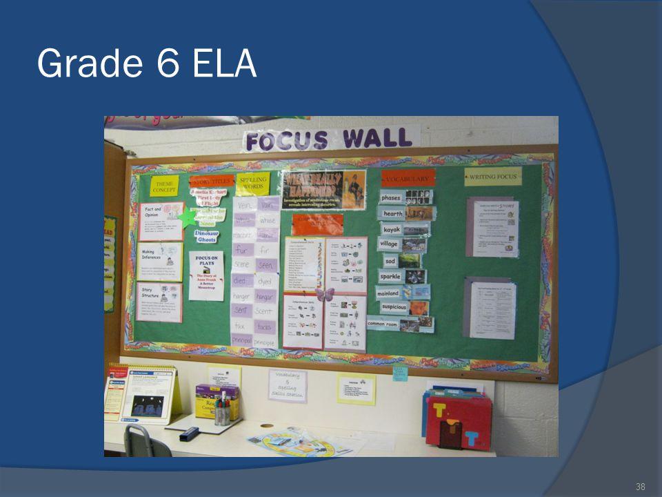 Grade 6 ELA 38