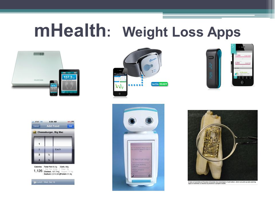 mHealth : Weight Loss Apps