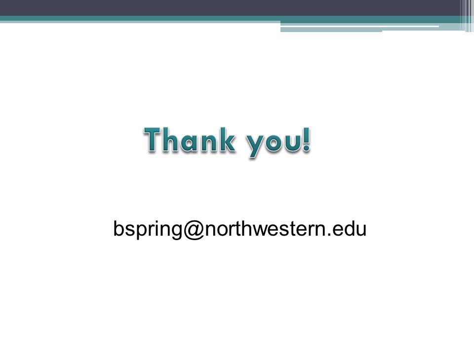 bspring@northwestern.edu