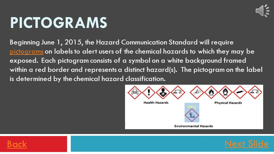 QUICK REVIEW………. Which grouping of terms best describes a health hazard