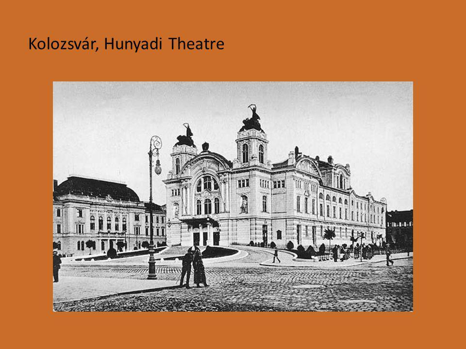 Kolozsvár, Hunyadi Theatre
