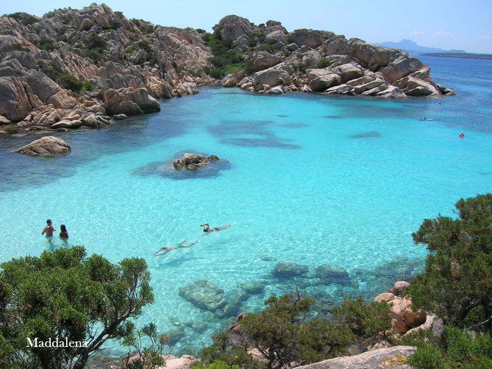 In Italy there are several islands. They are very famous destination of naturalistic tourism. Elba Eolie Capri