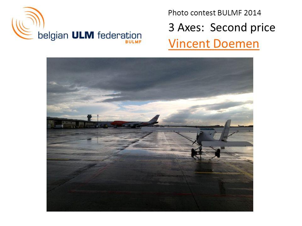 Photo contest BULMF 2014 3 Axes: Second price Vincent Doemen