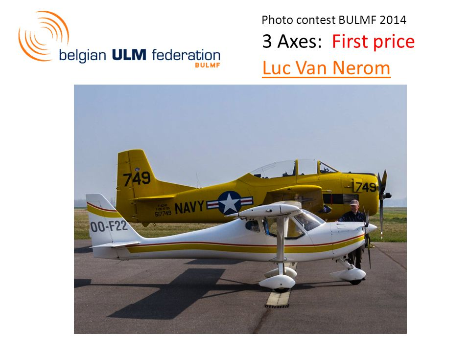 Photo contest BULMF 2014 3 Axes: First price Luc Van Nerom