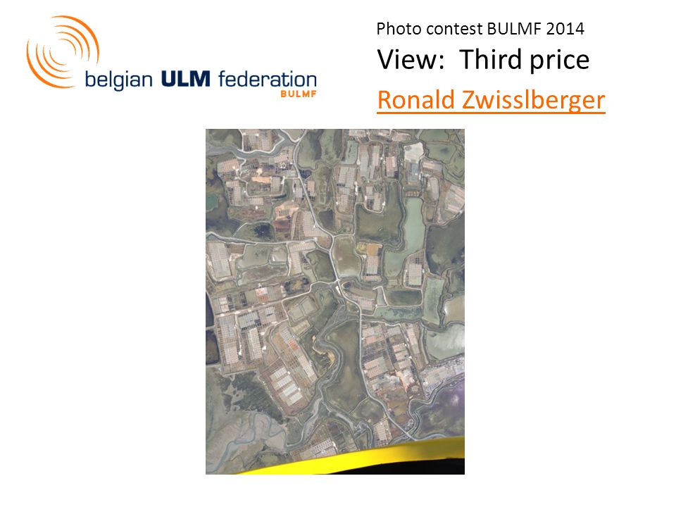 Photo contest BULMF 2014 View: Third price Ronald Zwisslberger
