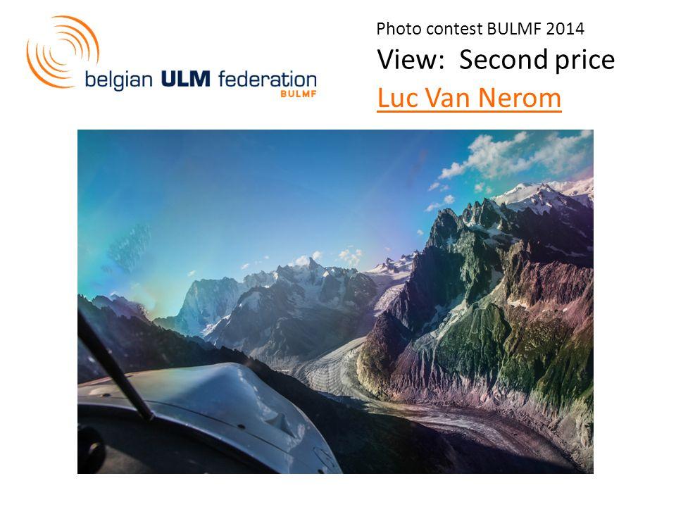 Photo contest BULMF 2014 View: Second price Luc Van Nerom