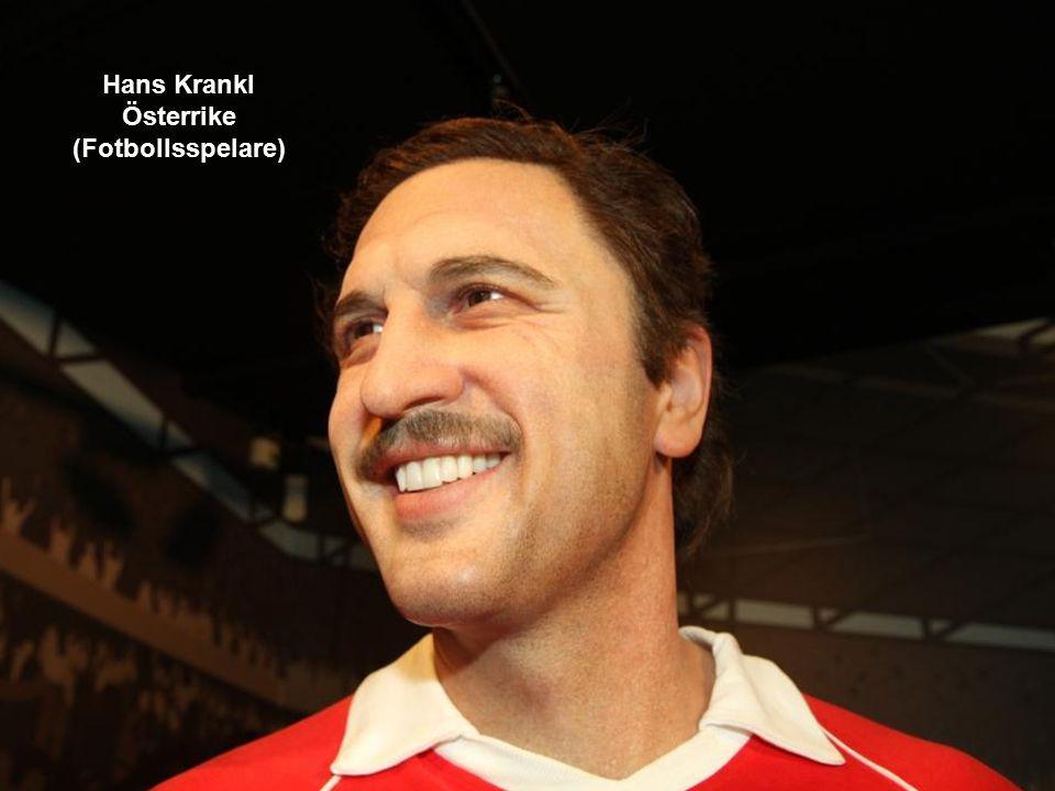 Hans Krankl Österrike (Fotbollsspelare)