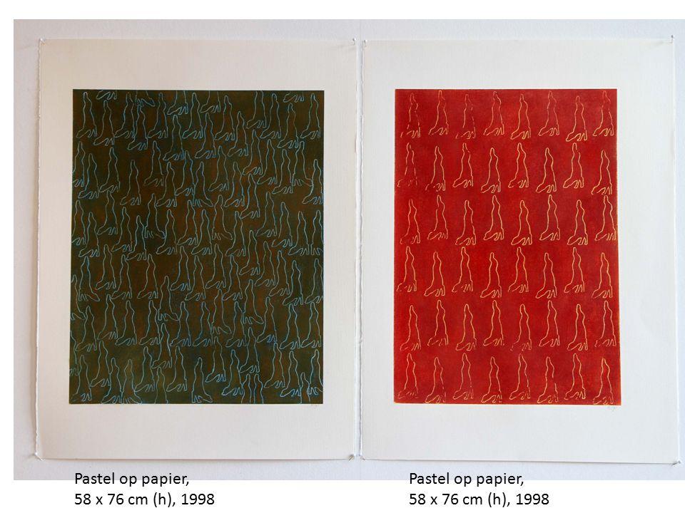 Pastel op papier, 58 x 76 cm (h), 1998 Pastel op papier, 58 x 76 cm (h), 1998