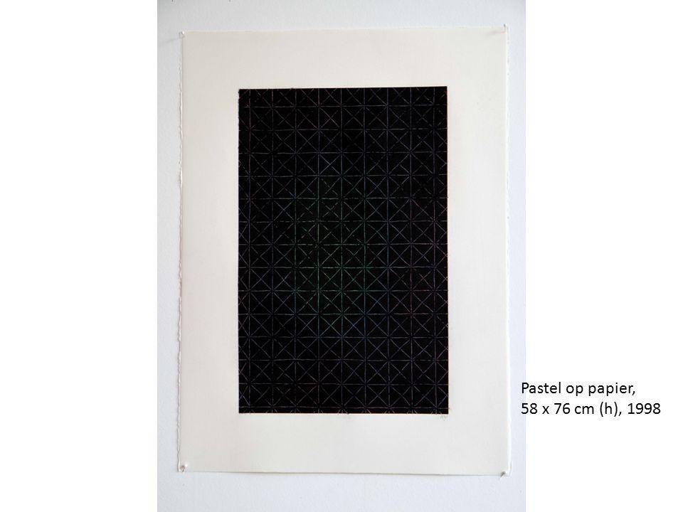 Pastel op papier, 58 x 76 cm (h), 1998