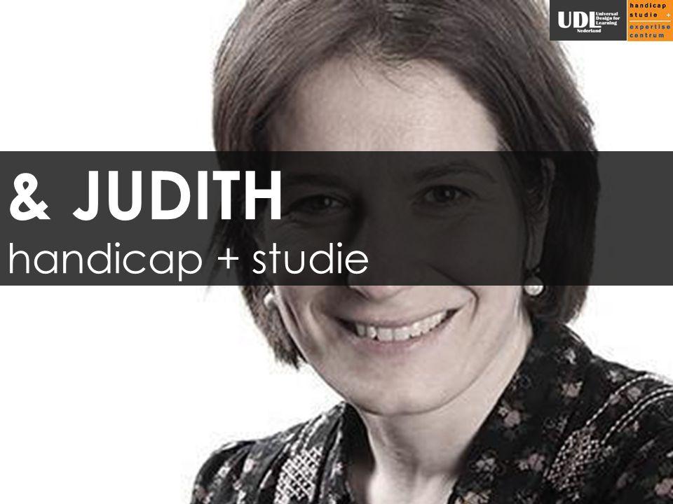 & JUDITH handicap + studie