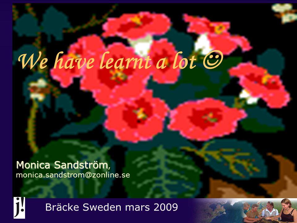 Staff: Feeling good together! Bräcke Sweden mars 2009