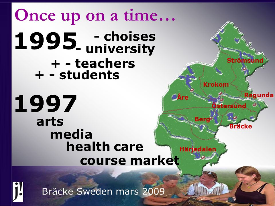 Flexible learning - 3 levels: Flexible studies – student level Flexible teaching – teacher level Flexibel education – school level Flexibelt learning is not a method it´s a way of thinking… it´s a way of thinking… Bräcke Sweden mars 2009