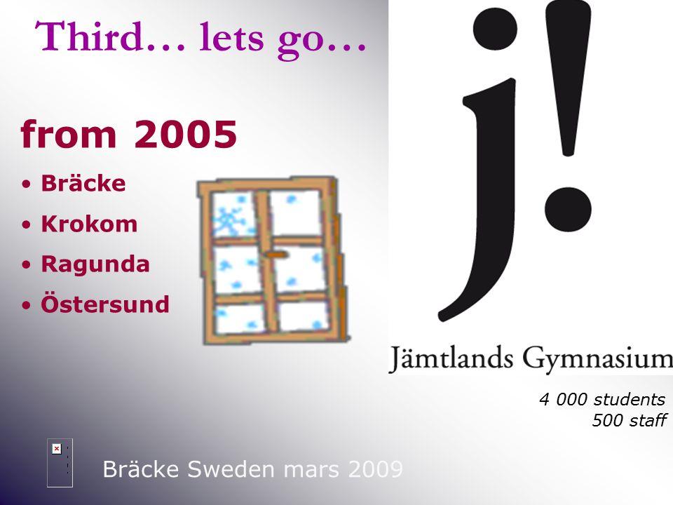 2001-2004 Bräcke Sweden mars 2009 Once… again