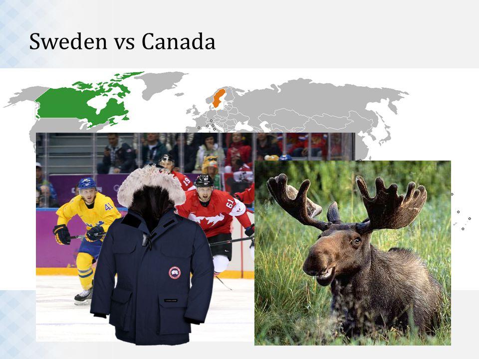 Sweden vs Canada