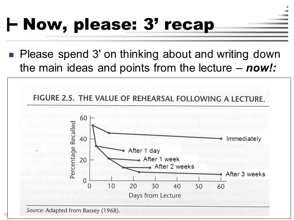 [ 43 ] Claus Brabrand, UFPE, Brazil Aug 11, 2010DATA-FLOW ANALYSIS Now, please: 3' recap Please spend 3' on thinking about and writing down the main i