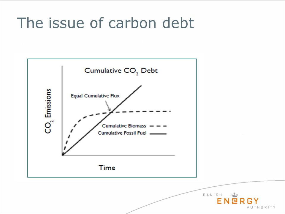 The issue of carbon debt