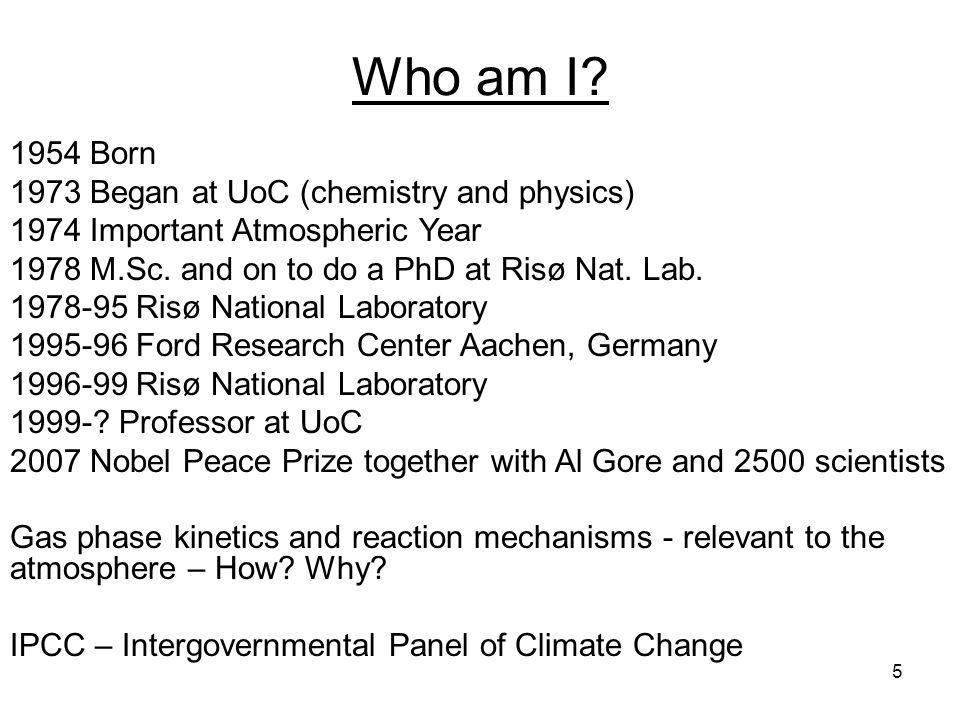 5 Who am I.