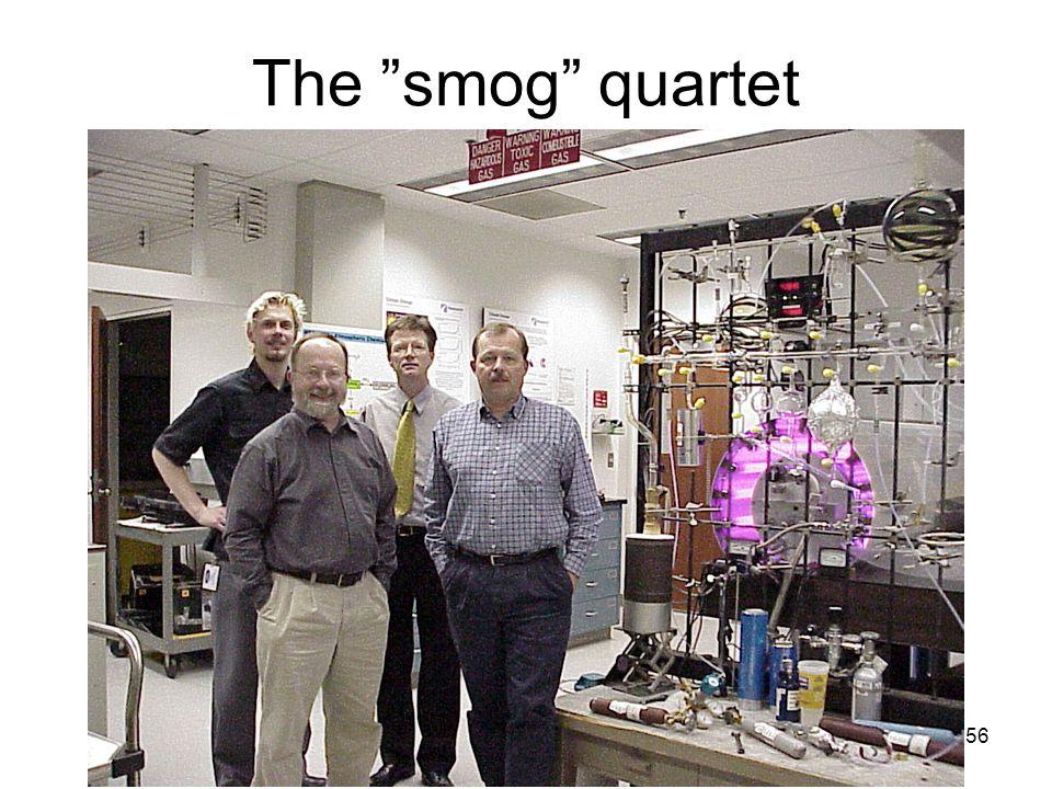 56 The smog quartet