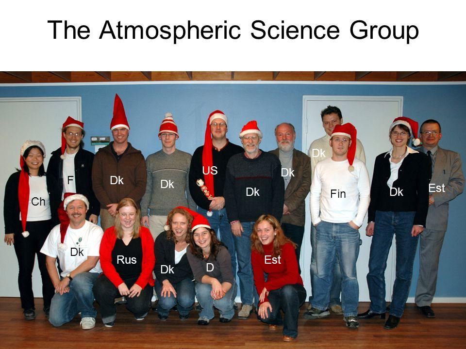 57 The Atmospheric Science Group Ch F Dk Fin Dk Rus D Est US