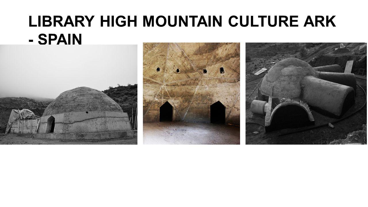 LIBRARY HIGH MOUNTAIN CULTURE ARK - SPAIN