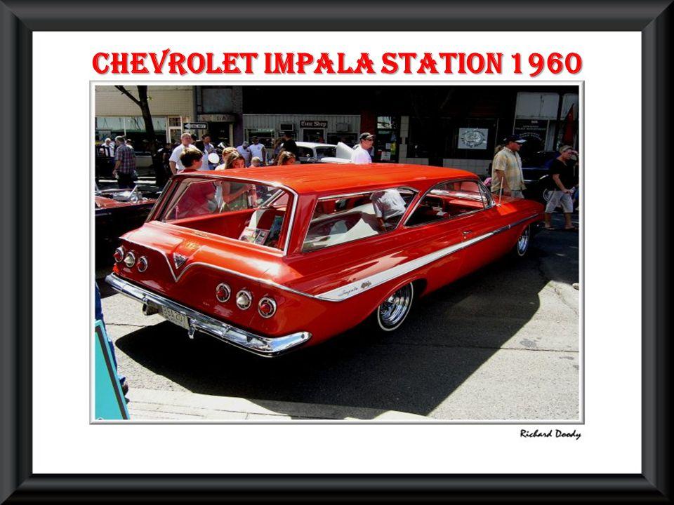 Chevrolet impala station 1960