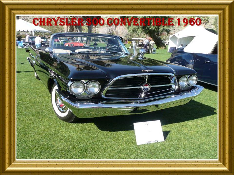 Chrysler 300 convertible 1960