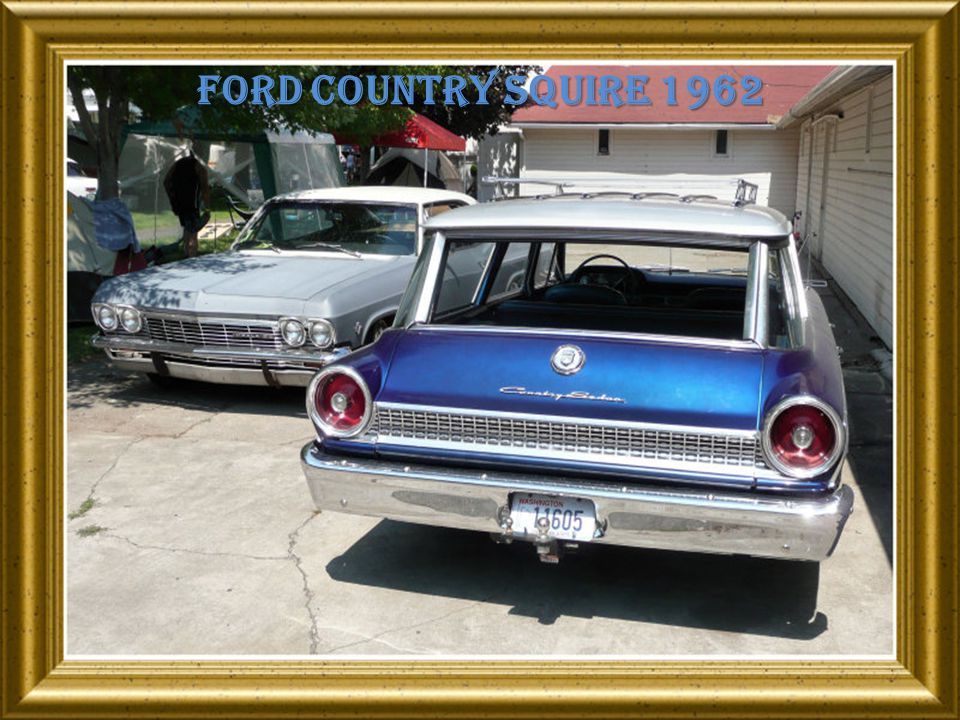 Ford country squire 1962
